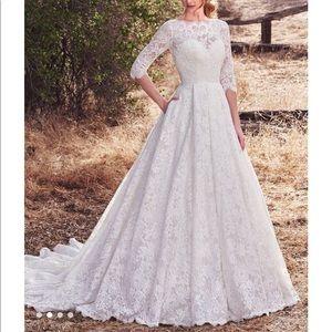 Maggie Sottero lace ballgown